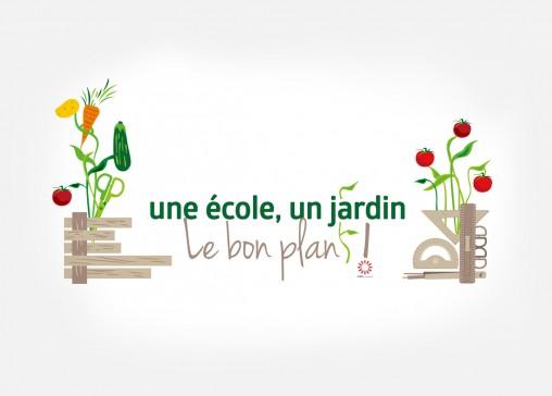 logo_une ecoleunjardin