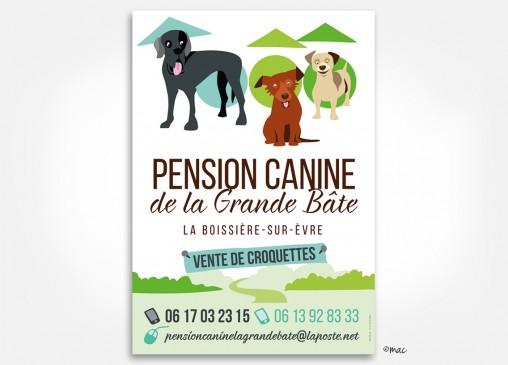 panneau_dibon_pension canine