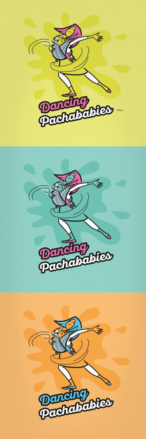 logo-illustration DANCING PACHABABIES