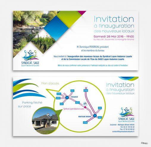 carton invitation SageLAL