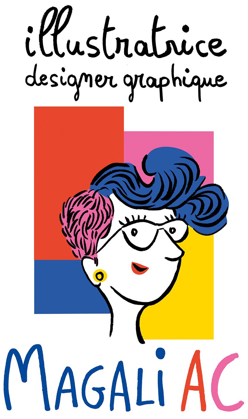 Magali AC illustratrice designer graphique