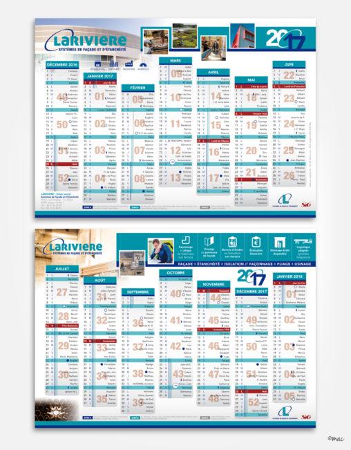 Calendrier charte graphique design graphique création graphique grille graphiste Angers Magali AC Pays de la Loire